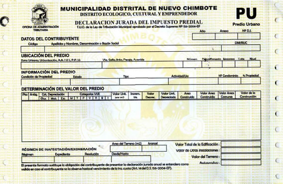 municipalidad de nuevo chimbote