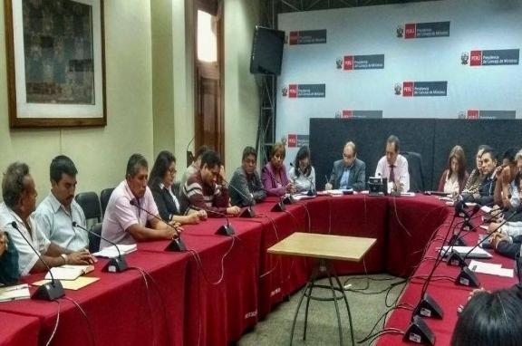 VALENTÍN FERNÁNDEZ: PRIMERA REUNIÓN DE AUTORIDADES DE ANCASH CON PRESIDENTE DE LA RECONSTRUCCION NACIONAL ES BENEFICIOSA Y AYUDARÁ A PRIORIZAR OBRAS.