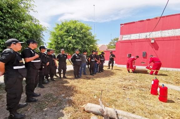 Acción inmediata de Seguridad Ciudadana  para prevenir incendios