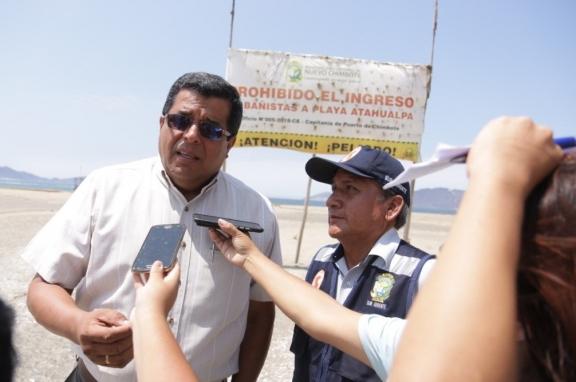 Funcionarios de la comuna sureña se pronuncian ante tragedia de Playa Atahualpa