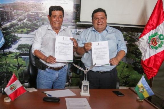 Acuerdo histórico entre municipalidades: Inician las coordinaciones para transferir terrenos a Nuevo Chimbote